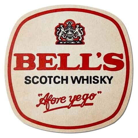 Bells Scotch Whisky Coaster