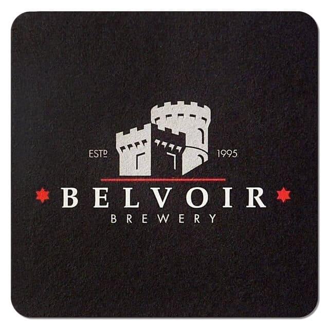 Belvoir Brewery Beer Mat