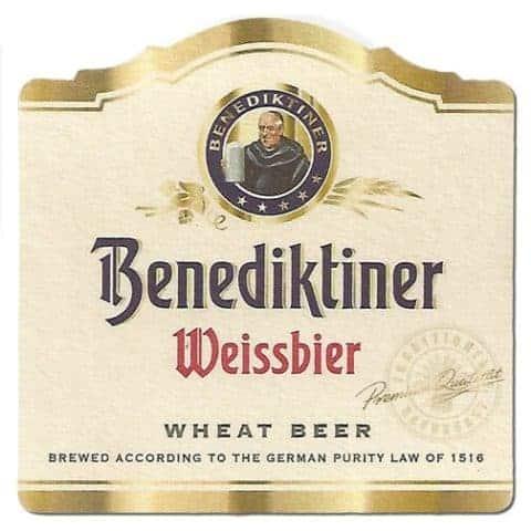 Benediktiner Weissbier Drip Mat