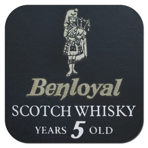 Benloyal Scotch Whisky Coaster