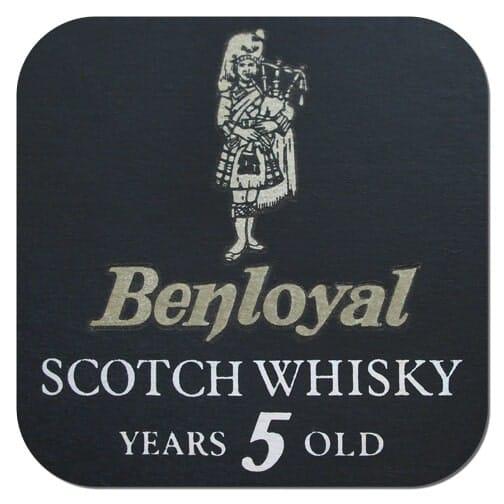 Benloyal Scotch Whisky Coaster