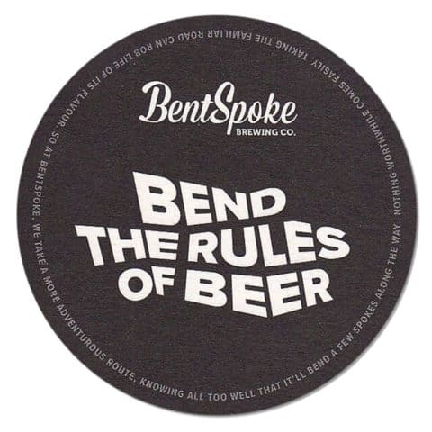 Bent Spoke Brewing Beer Mat