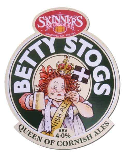 Betty Stogs Beer Mat