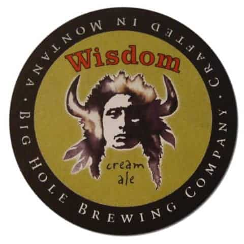 Big Hole Brewing Wisdom Beer Mat