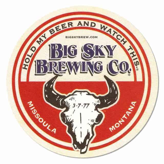 Big Sky Brewing Beer Mat