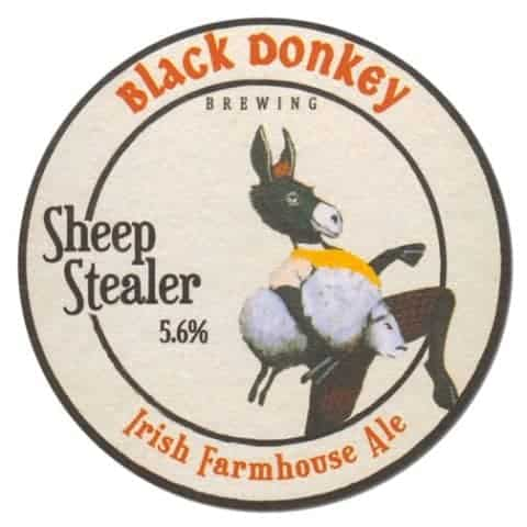 Black Donkey Brewing - Sheep Stealer Ale Beer Mat
