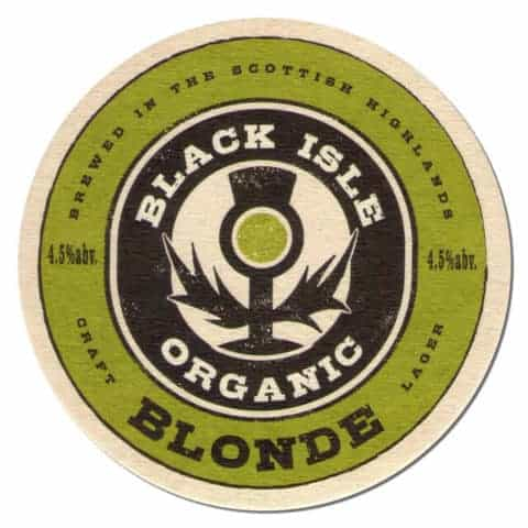 Black Isle Organic Blonde Coaster