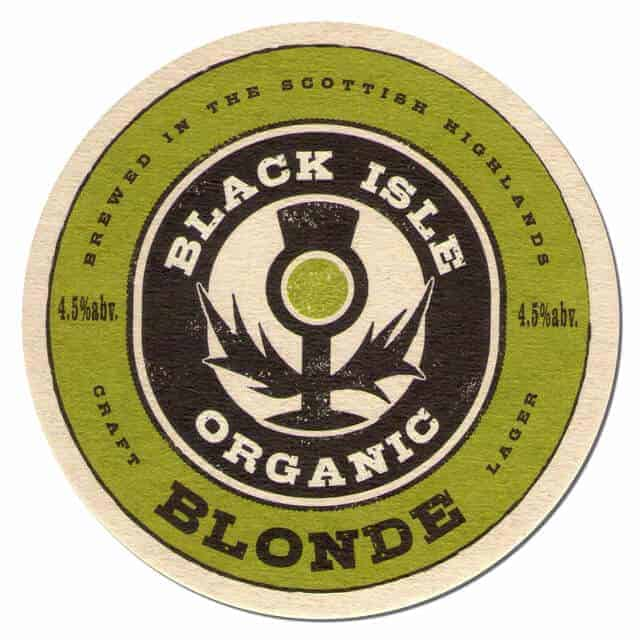 Black Isle Organic Blonde Coaster