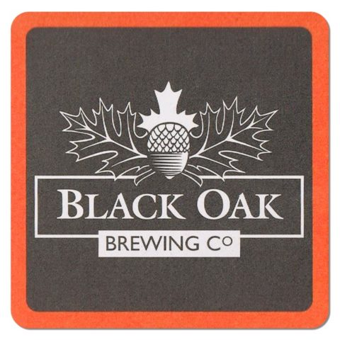 Black Oak Brewing Beer Mat