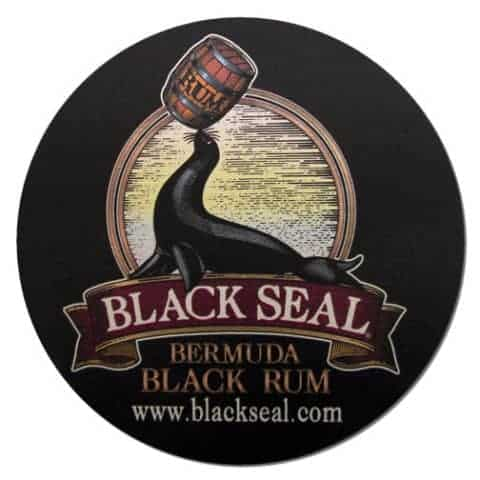Goslings Black Seal Bermuda Rum Coaster