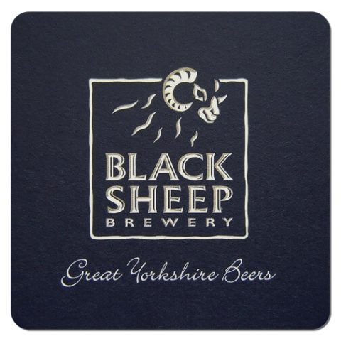 Black Sheep Brewery Beer Mat