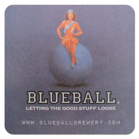 Blueball Brewery Coaster