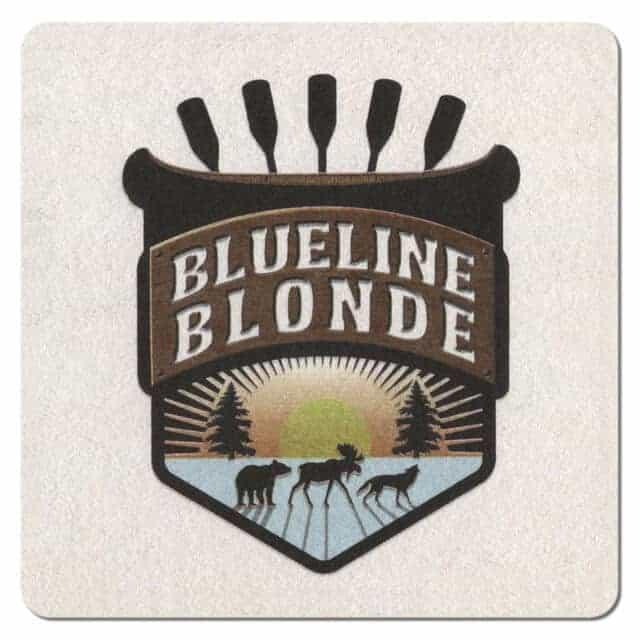 Blueline Blonde Beer Mat