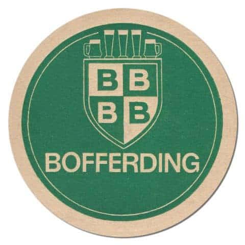 Bofferding Beer Mat