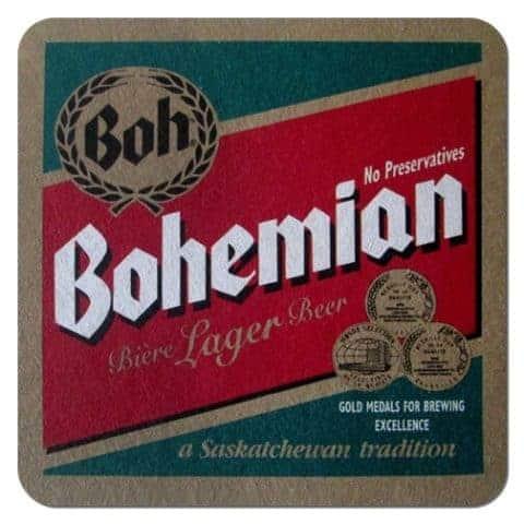 Bohemian Lager Beer Mat
