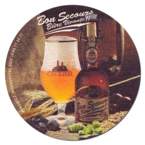 Bon Secours Beer Mat