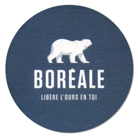 Boreale Beer Mat