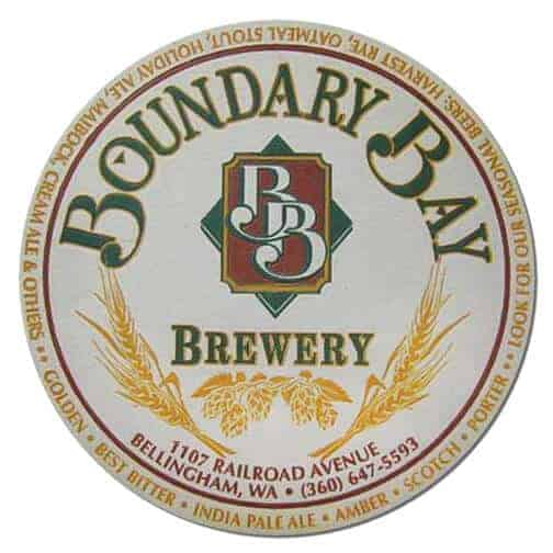 Boundary Bay Brewery Coaster