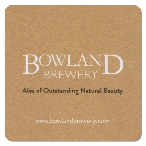 Bowland Brewery Beer Mat