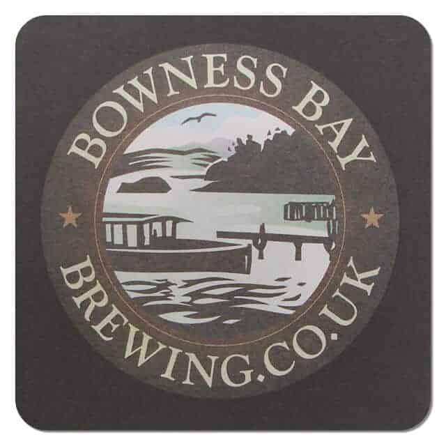 Bowness Bay Brewing Coaster