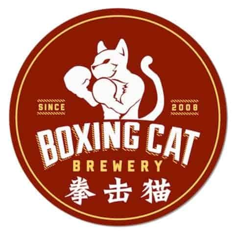 Boxing Cat Brewery Beer mat