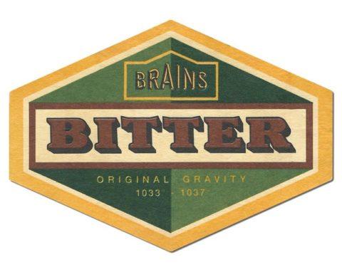 Brains Bitter Beer Mat