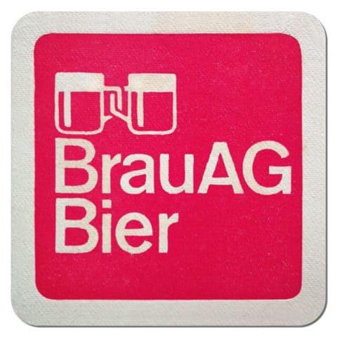 BrauAG Beer Mat