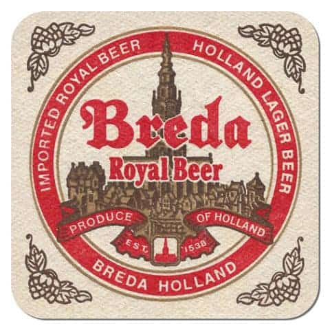 Breda Royal Beer Coaster