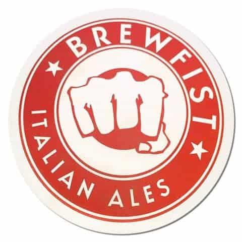 Brewfist Italian Ales Beer Mat