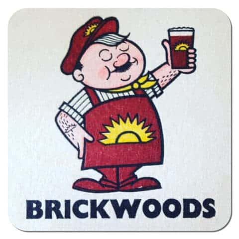 Brickwoods Brewery Beer Mat