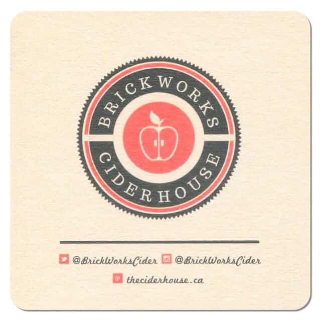Brickworks Ciderhouse Coaster