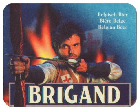 Brigand Beer - Brouwerij Van Honsebrouck Beer Mat