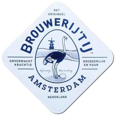 Brouwerij't-tIJ Beer Mat