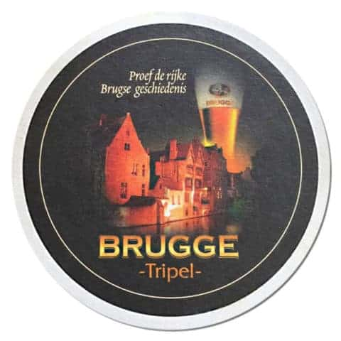 Brugge Tripel Beer Mat