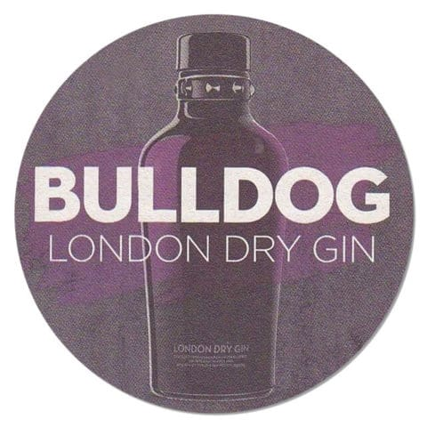 Bulldog London Dry Gin Coaster
