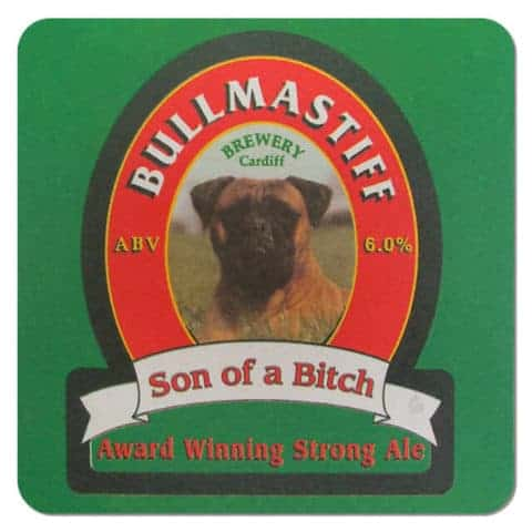 Bullmastiff Brewery Coaster