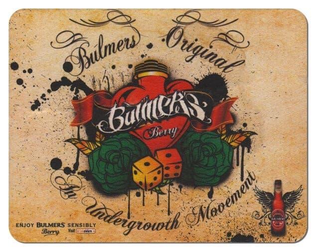 Bulmers Berry Drip Mat Front