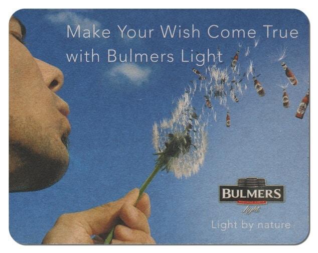 Bulmers Light Drip Mat Front