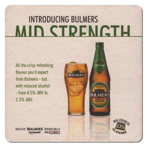 Bulmers Mid Strength Drip Mat