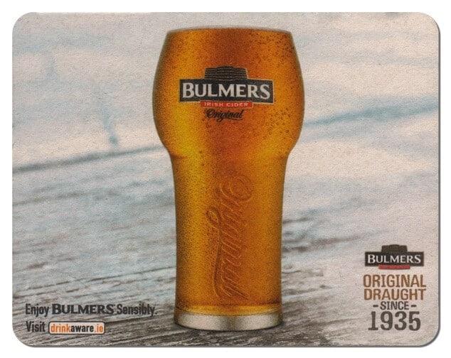 Bulmers Drip Mat Front
