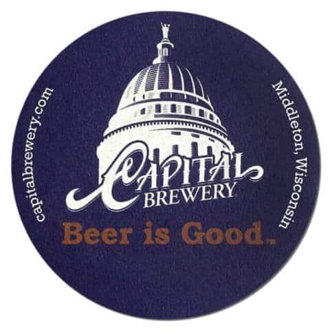 Capital Brewery Beer Mat