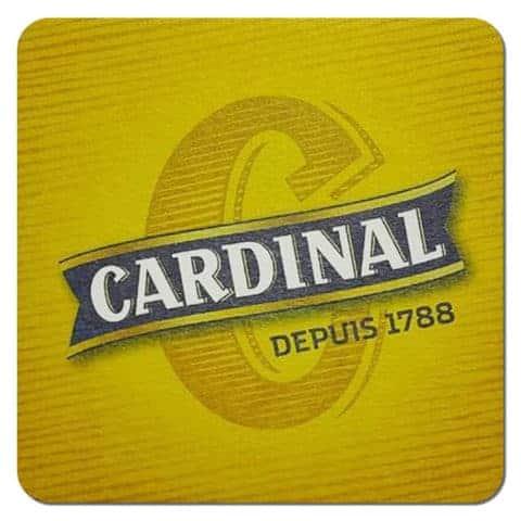 Cardinal Beer Mat