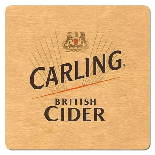 Carling British Cider Drip Mat