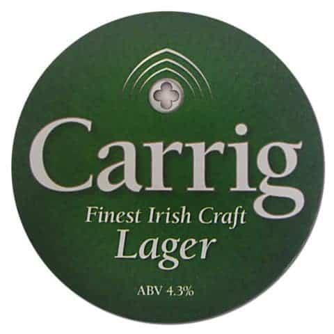 Carrig Irish Lager Coaster