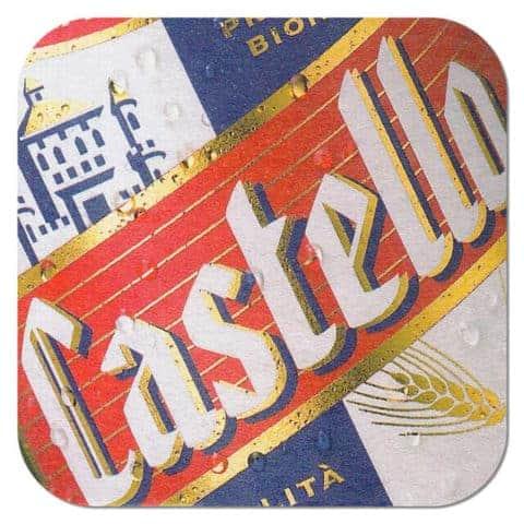 Birra Castello Beer Mat