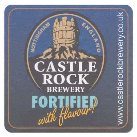 Castle Rock Brewery Beer Mat