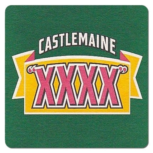 Castlemaine XXXX Beer Mat