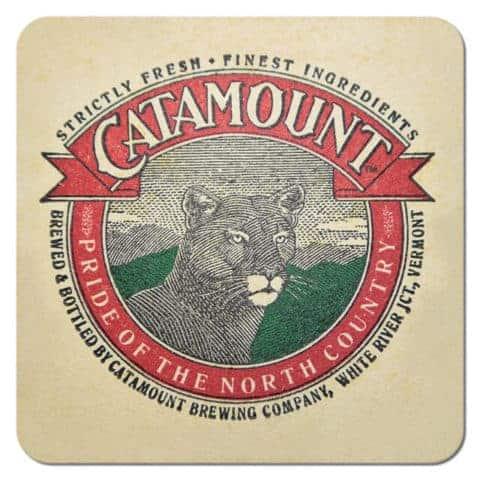 Catamount Brewing Beer Mat