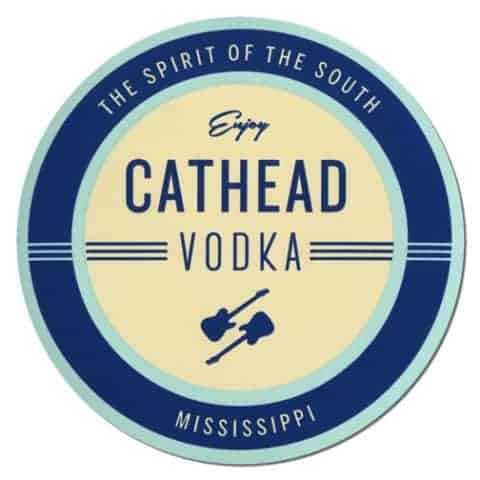 Cathead Vodka Coaster