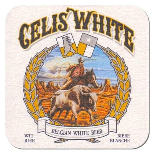Celis White Beer Mat